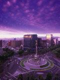 Monumento a La Indepencia, Mexico City Photographic Print by Walter Bibikow
