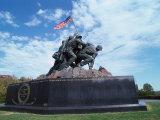Iwo Jima Mem Statue, Arlington Natl Cemetery, VA Stampa fotografica di Dennis Macdonald