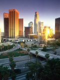 Los Angeles, CA Photographic Print by Mitch Diamond