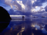 Dramatic Clouds, Cape Sebastian, Oregon Photographic Print by Jim Corwin