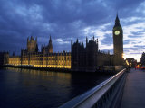Big Ben, Parliament, River Thames, UK Photographic Print by Dan Gair