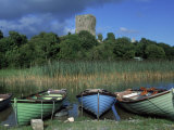 Boats, Lough Corrib, County Mayo, Ireland Photographic Print by Gail Dohrmann