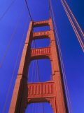 Close-up of Golden Gate Bridge, San Francisco, CA Photographic Print by Walter Bibikow