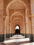 Hassan II Mosque, Casablanca, Morocco Photographic Print by Michele Burgess