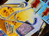 Medical Still Life Fotografisk tryk af Chris Rogers