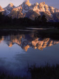 Dawn, Grand Tetons, WY Photographic Print by Gail Dohrmann