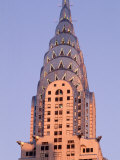 Chrysler Building at Dusk, New York City Fotodruck von Rudi Von Briel