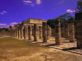 Ancient Mayan City Ruin, Chichen Itza, Mexico Photographic Print by Walter Bibikow