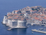 Old Wall City of Dubrovnik, Croatia Photographic Print by Wayne Hoy