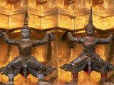 Wat Phra Kaen, Grand Palace, Bangkok, Thailand Photographic Print by Frank Staub