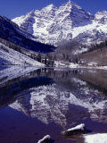 Maroon Bells Wilderness Area Photographic Print by D. Robert Franz