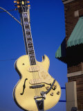 Sun Studio Guitar Sign, Memphis Photographic Print by Bruce Leighty