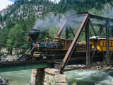 Durango-Silverton Line, CO Fotografie-Druck von Sherwood Hoffman