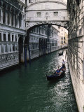 Gondolas, Venice, Italy Photographic Print by Doug Page