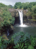 Rainbow Falls, Hilo, HI Photographic Print by Mark Polott
