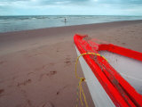 Boat at Brackley Beach, Pei, Canada Photographic Print by Pat Canova