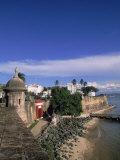 La Fortaleza, Old San Juan, Puerto Rico Photographic Print by Timothy O'Keefe