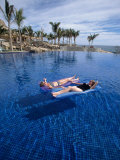 Women in Pool, Cabo San Lucas, Baja CA, Mexico Photographic Print by Yvette Cardozo