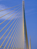 Sunshine Skyway Bridge, FL Photographic Print by Rick Poley