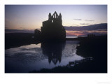 Whitby Abbey, Whitby, Yorkshire, England Giclee Print by Simon Marsden