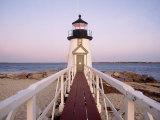 Brant Point Lighthouse, Nantucket, MA Fotografisk tryk af Kindra Clineff