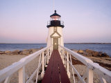 Brant Point Lighthouse, Nantucket, MA Fotodruck von Kindra Clineff