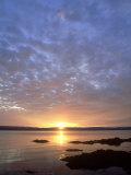 Sunset, Arran, Scotland Fotodruck von Iain Sarjeant