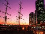 Peking Ship at South Street Seaport, NY Fotografie-Druck von Rudi Von Briel