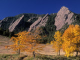 The Flatirons, Boulder, Colorado Photographic Print by Gary Conner