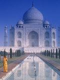 Taj Mahal, Agra, Inde Photographie par Peter Adams