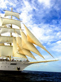 Star Clipper Under Sail Photographic Print by Timothy O'Keefe