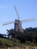 Dutch Windmill, Golden Gate Park, San Francisco Photographic Print by Reid Neubert