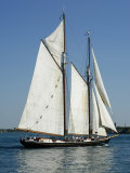 Tall Ship on the St. Clair River, MI Photographic Print by Dennis Macdonald
