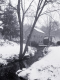 Sudbury Gristmill After Storm, MA Photographic Print by Rick Berkowitz