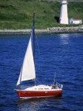 Sailboat Fotografie-Druck von Chris Rogers