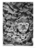 Green Man, All Saints Church, Sutton Benger, Wiltshire, England Giclee Print by Simon Marsden