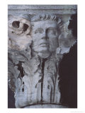 Sculpture on a Capital in the Loggia of the Dogeaes Palace Giclee Print by Simon Marsden