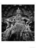 Monument to Emperor Freidrich Barbarossa, the Kyffhauser Mountains, Germany Giclee Print by Simon Marsden