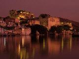 City Palace at Sunset, Udaipur, India Fotografisk tryk af Dan Gair