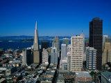 Alcatraz and Skyline, San Francisco, CA Photographic Print by Mark Gibson