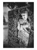 Statue at Anglesey Abbey, Cambridgeshire, England Giclee Print by Simon Marsden