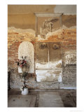 Memorial in the Cloisters of the Church of San Michele in Isola Giclee Print by Simon Marsden