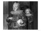 Effigies of the Sons of the 6th Earl of Rutland, Bottesford Church, Leicestershire, England Giclee Print by Simon Marsden