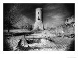 The Watchtower, Vlad Dracul's Palace, Tirgoviste, Romania Giclee Print by Simon Marsden