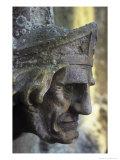 Head, Church of St Helen, West Keal, Lincolnshire, England Giclee Print by Simon Marsden