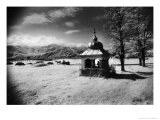 Roadside Shrine, Entrance to the Carpathian Mountains, Romania Giclee Print by Simon Marsden