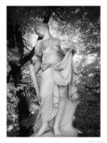Statue at Baroque Garden, Heidenau, Germany Giclee Print by Simon Marsden