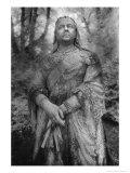 Statue of Queen Victoria, Athelhampton Hall, Dorset, England Giclee Print by Simon Marsden