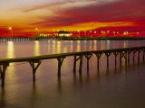 Sunset Over Mobile Bay, Fairhope, Al Photographic Print by Jeff Greenberg