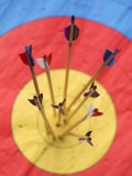 Arrows and Target Photographic Print by Peter Adams